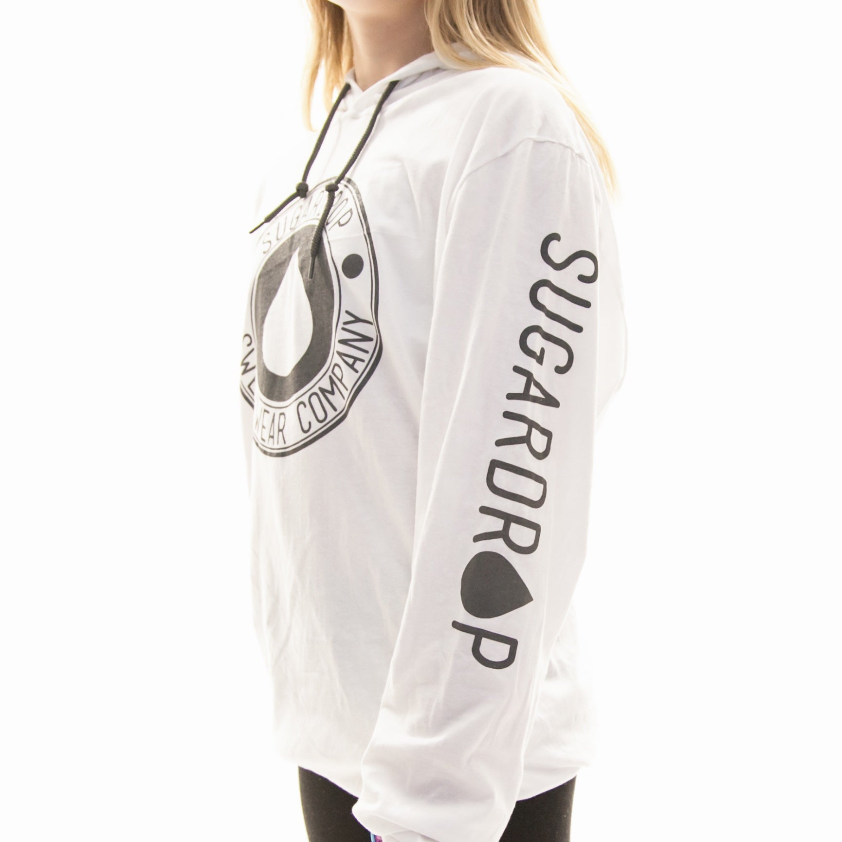 Sugardrop Circle Hooded Tee Adult