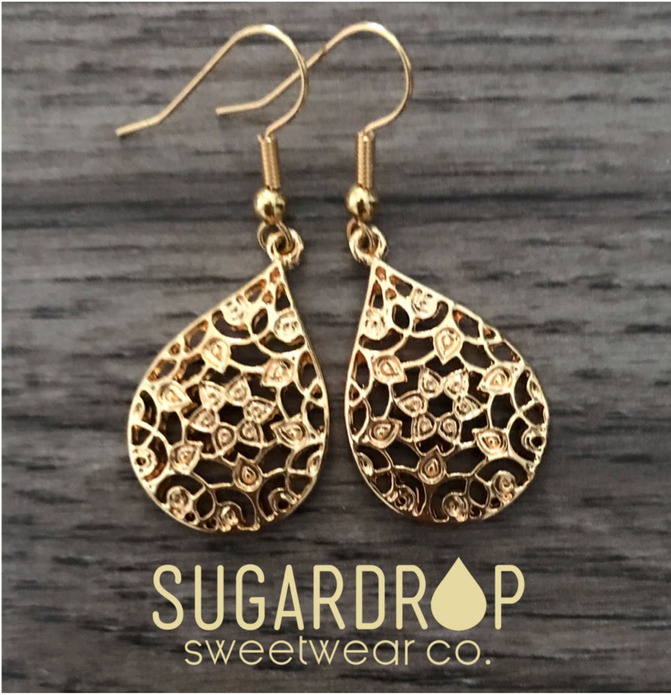 Sugardrop Charm Earrings