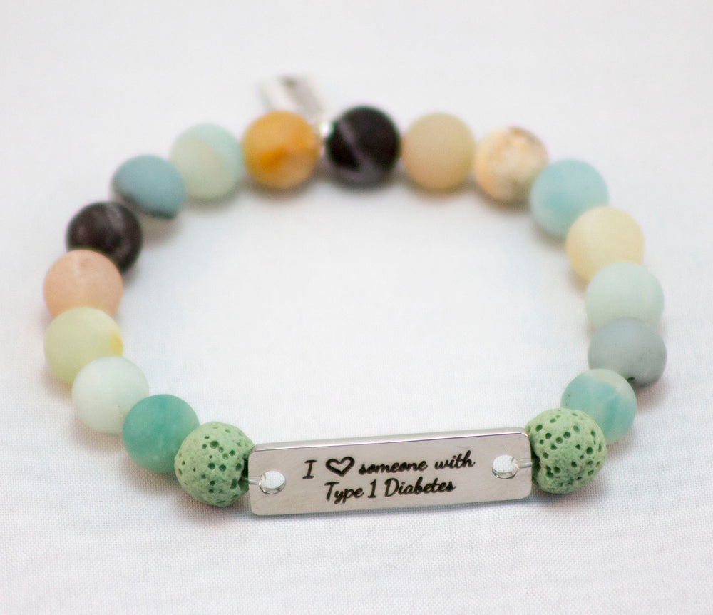 NEW! I love someone with T1D Bracelet