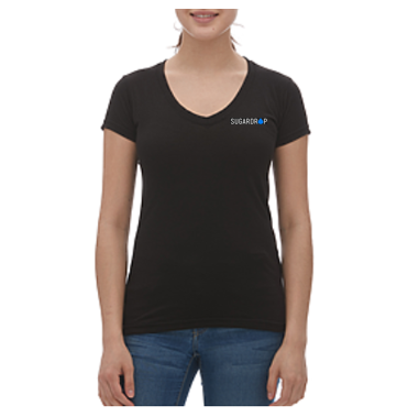 Ladies Signature Drop V-Neck