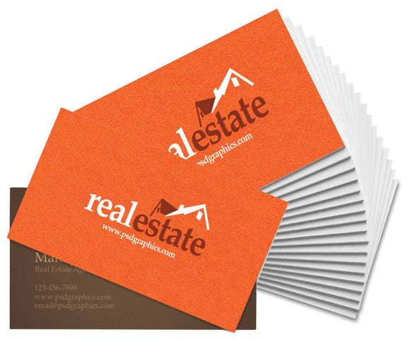 real estate buisness cards