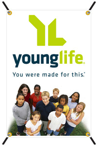 Young Life Small X-Banner