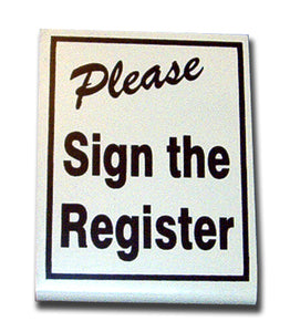 Stand up, Black, Please Sign the Register