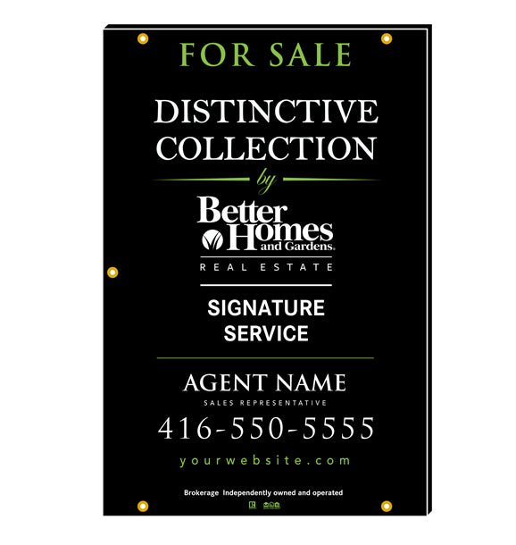 Better Homes & Gardens - For Sale Signs - Distinctive Collection