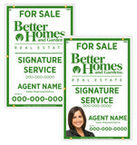 Better Homes & Gardens - For Sale Signs