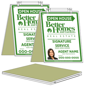 Better Homes & Gardens - Sandwich Boards