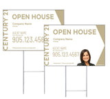Century 21 - Directional Signs, Personalized