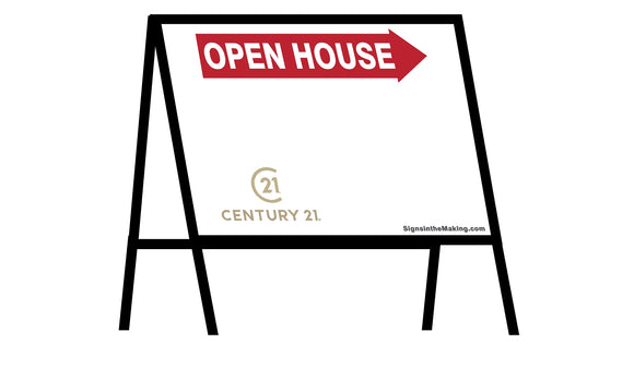 Century 21 - A-Frame Open House Inserts (Sets of 2)