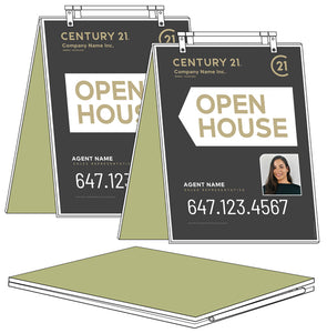 Century 21 - Sandwich Boards