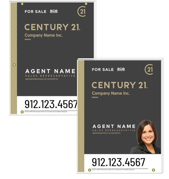Century 21 - For Sale Signs - Mosaic