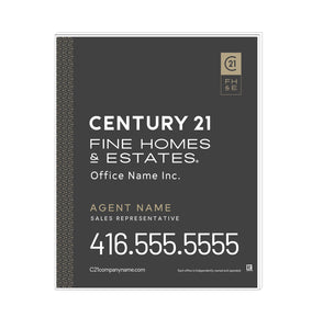 Century 21 - For Sale Signs - Fine Homes & Estates