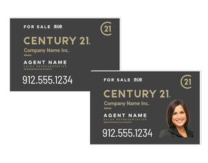 Century 21 - Heritage Group Ltd. - For Sale Signs