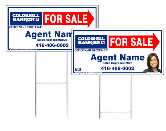 Coldwell Banker - Directional Signs, Personalized