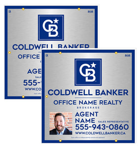 Coldwell Banker - For Sale Signs - Silver Style