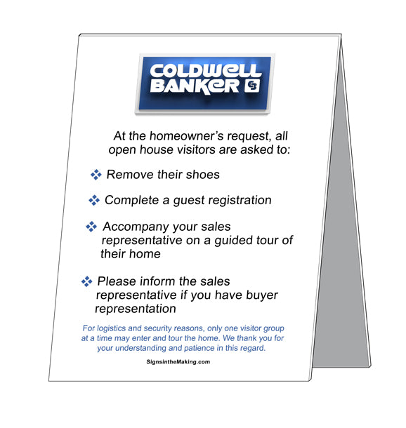 Coldwell Banker - Open House Etiquette