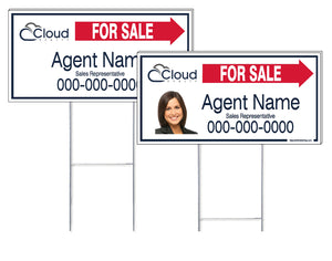 Cloud Realty - Directional Signs, Personalized