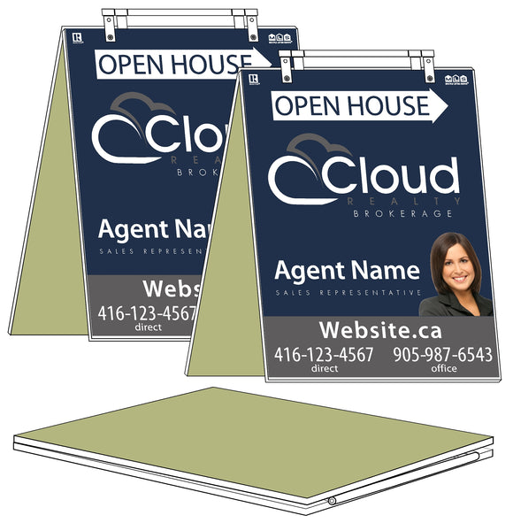 Cloud Realty - Sandwich Boards