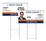 Street Master Realty - Directional Signs, Personalized