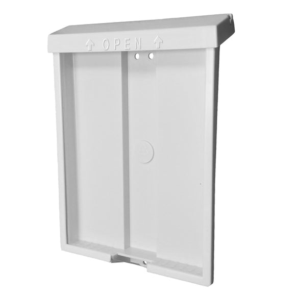 Deluxe Outdoor Brochure Holder - 8 1/2