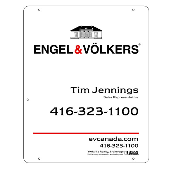 Engel & Völkers - For Sale Signs