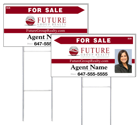 Future Group Realty - Directional Signs, Personalized