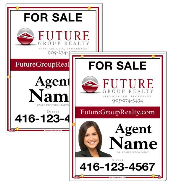 Future Group Realty - For Sale Signs, Personalized