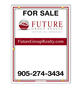 Future Group Realty - For Sale Signs, Generic
