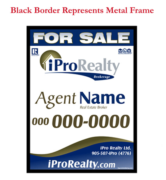 iPro Merger - For Sale Sign Inserts