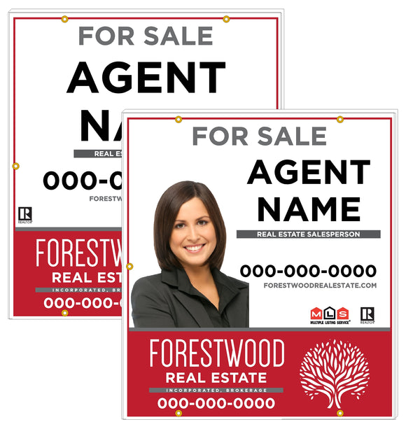 Forestwood - For Sale Signs