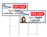 iPro Realty - Directional Signs, Personalized