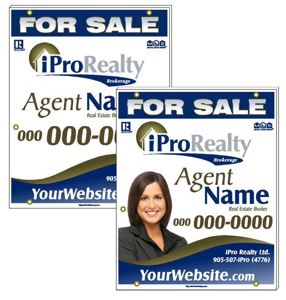 iPro Merger - For Sale Signs