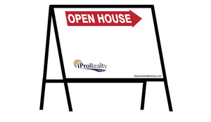 iPro Realty - A-Frame Open House Inserts (Sets of 2)