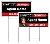 Kingsway - Directional Signs, Personalized