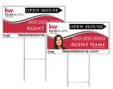 Keller Willliams - Directional Signs, Personalized