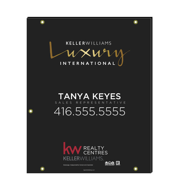 Keller Williams Luxury International  - For Sale Signs