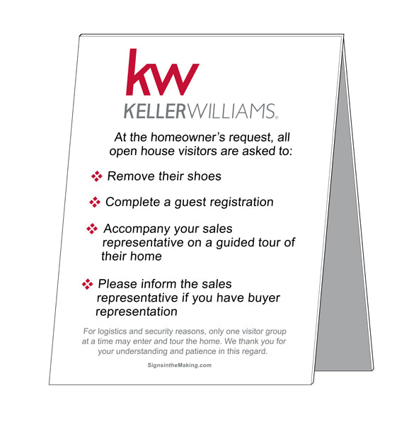 KW - Open House Etiquette