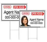 Living Realty - Directional Signs, Personalized