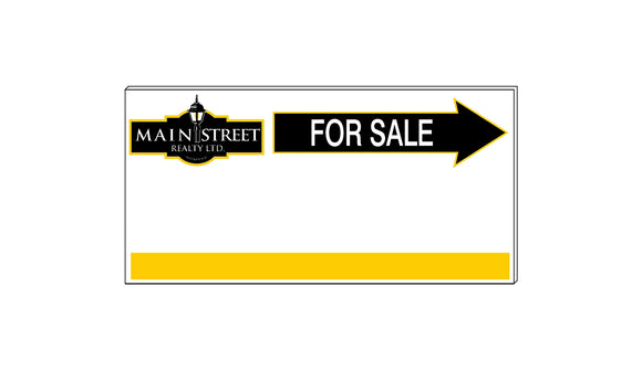 Main Street - Directional Signs, Generic