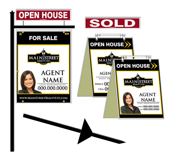 Main Street Realty - New Agent Packages