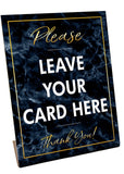Please Leave Your Card MARBLE