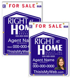 Right At Home - For Sale Signs
