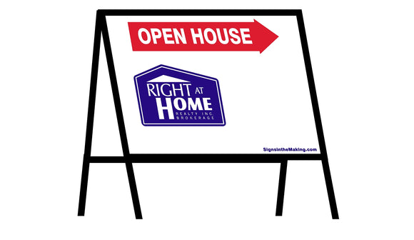 Right At Home - A-Frame Open House Inserts (Sets of 2)