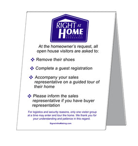 Right At Home - Open House Etiquette