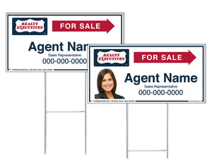 Realty Executives - Directional Signs, Personalized
