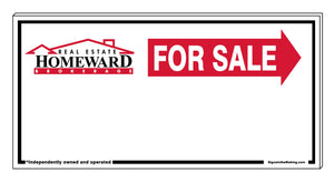 Real Estate Homeward - Directional Signs, Generic