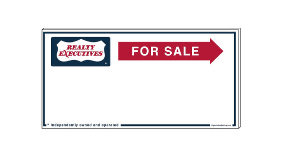 Realty Executives - Directional Signs, Generic