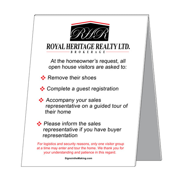 Royal Heritage Realty - Open House Etiquette