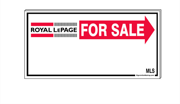Royal LePage - Directional Signs, Generic