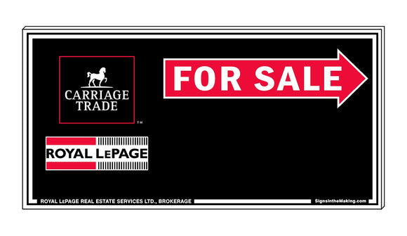 Royal LePage Carriage Trade - Directional Signs, Generic