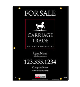 Royal LePage Carriage Trade - For Sale Signs